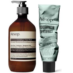 Aesop Hand Wash and Toothpaste Duo (Worth £37.00)