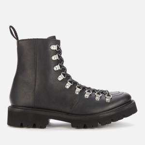 Grenson Women's Nanette Vegan Hiking Style Boots - Black