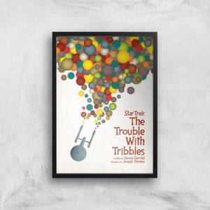 The Trouble With Tribbles Giclee