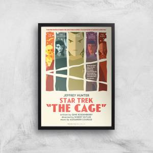 The Cage Giclee