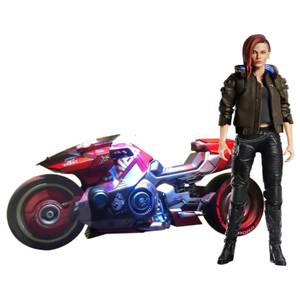PureArts Cyberpunk 1:6 V Female and Yaiba Kusanagi Set