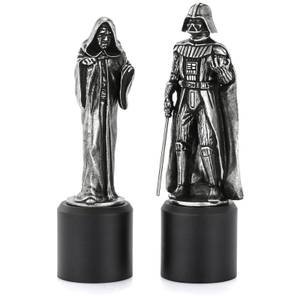 Royal Selangor Star Wars Pewter Chesspieces - Darth Vader and Sidious (King/Queen)