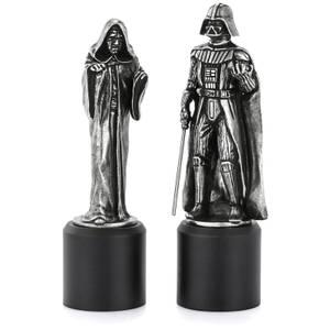 Pièces d'échec Dark Vador et Dark Sidious Star Wars - Royal Selangor