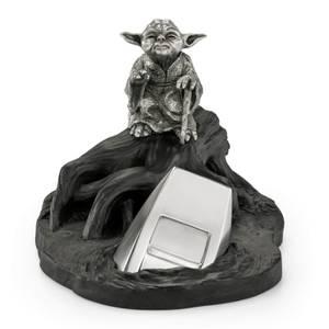 Royal Selangor Star Wars - Figurita de peltre de Yoda - Edición limitada de 999