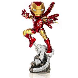 Figura Iron Man Vengadores: Endgame 20 cm - Iron Studios Mini Co.