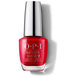 OPI Infinite Shine Unequivocally Crimson Nail Varnish 15ml