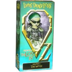 Mezco Living Dead Dolls - The Lost in OZ Exclusive Emerald City Variant - Walpurgis as the Witch