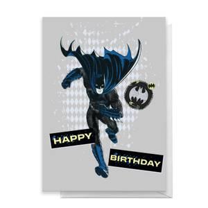 Batman Happy Birthday Greetings Card