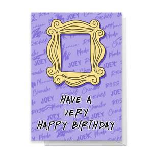 Friends Happy Birthday Greetings Card