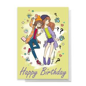 Scooby Doo 10th Birthday Girls Greetings Card