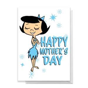 Flintstones Happy Mother's Day Greetings Card