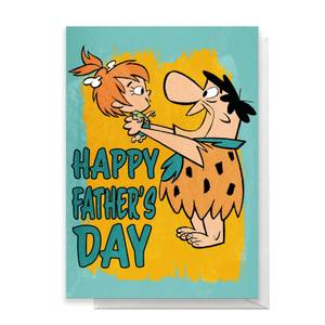Flintstones Happy Father's Day Greetings Card