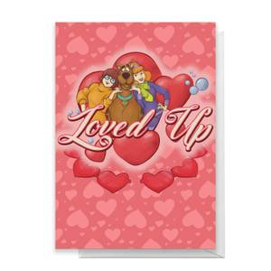 Scooby Doo Valentines Loved Up Greetings Card