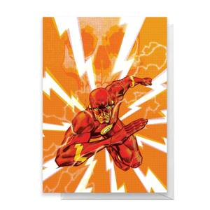 The Flash Greetings Card