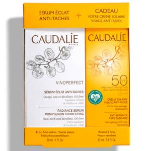 Caudalie Vinoperfect Serum 30ml and SPF50 Suncare Duo 25ml