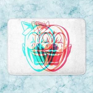 Psychedelic Clown Bath Mat
