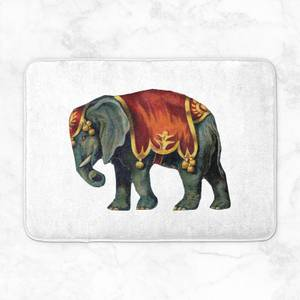Circus Elephant Bath Mat