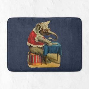 Clown Elephant Bath Mat