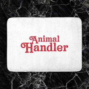 Animal Handler Bath Mat