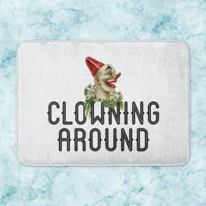 Clowning Around Bath Mat
