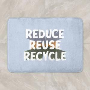 Reduce, Reuse, Recycle Bath Mat