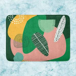 Earth Garden Bath Mat