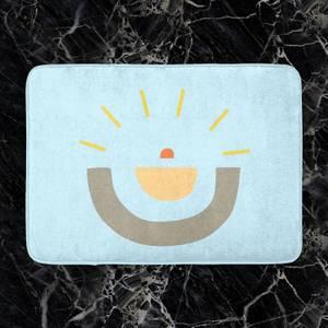 Abstract Sun Bath Mat