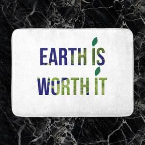 Earth Is Worth It Bath Mat