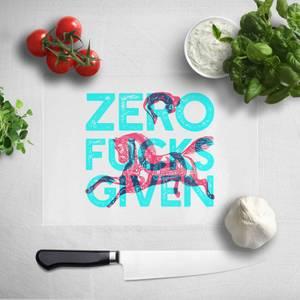 Zero Fuck Givens Chopping Board