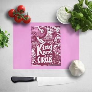 King Bros Three Ring Circus Chopping Board