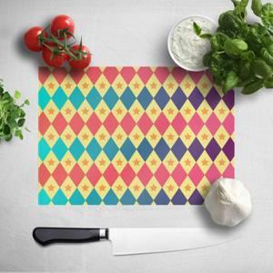 Big Top Pattern Chopping Board