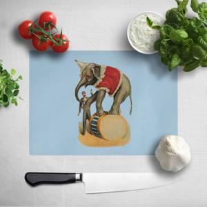 Elephant Tricks Chopping Board