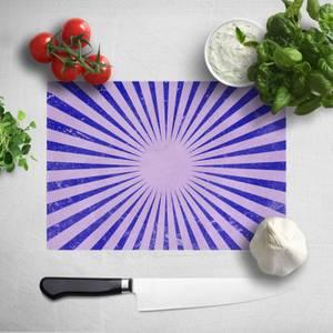 Circus Beams Purple Chopping Board