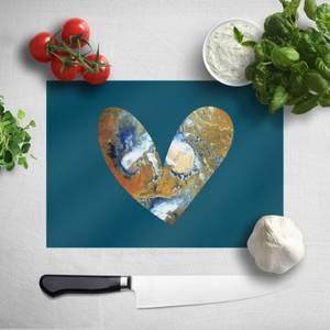 Heart Earth Chopping Board