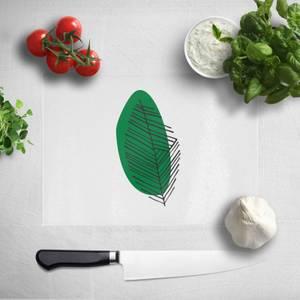 Slanted Leaf Chopping Board