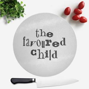 The Favoured Child Round Chopping Board