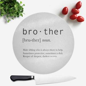 Brother Definition Round Chopping Board