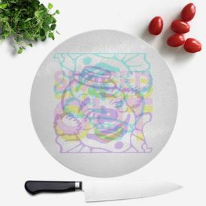 Spaced Out Round Chopping Board