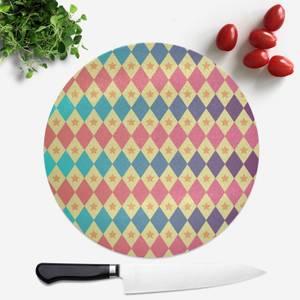 Big Top Pattern Round Chopping Board