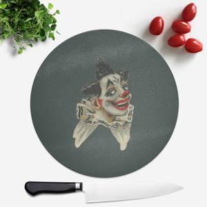 Happy Clown Round Chopping Board