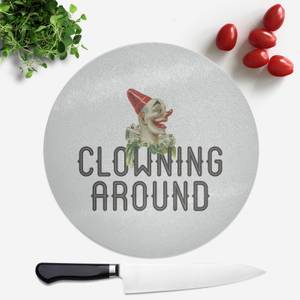 Clowning Around Round Chopping Board