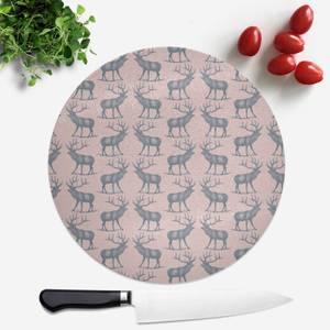 Deer Round Chopping Board