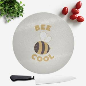 Bee Cool Round Chopping Board