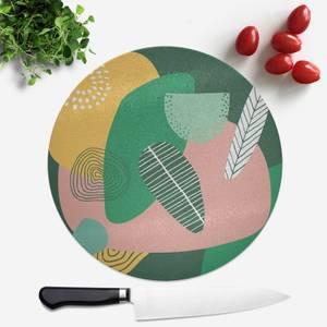 Earth Garden Round Chopping Board