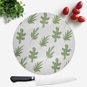 Multi Leaves Round Chopping Board