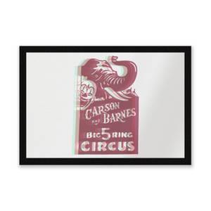 Carson And Barnes Big Five Ring Circus Entrance Mat