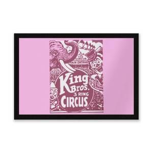 King Bros Three Ring Circus Entrance Mat