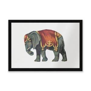 Circus Elephant Entrance Mat