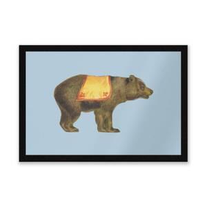 Circus Bear Entrance Mat