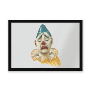Crying Clown Entrance Mat